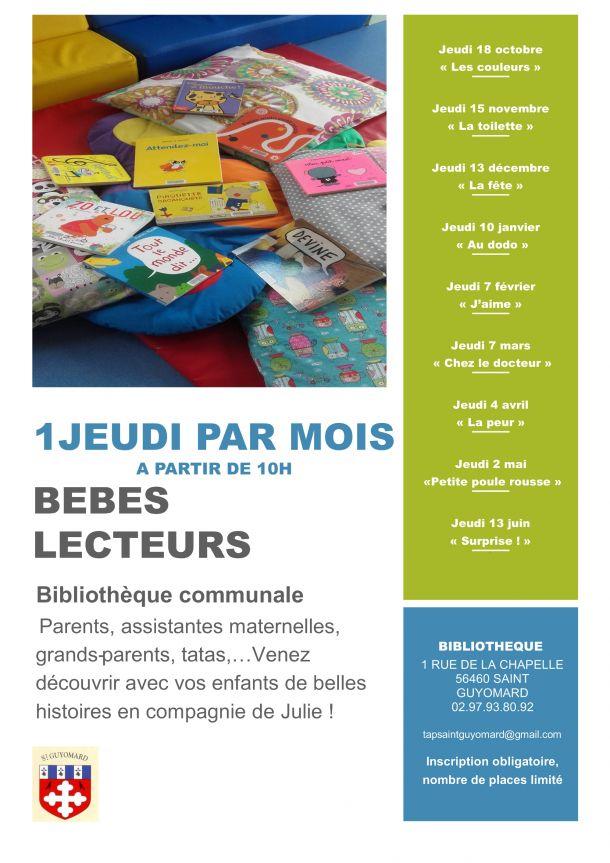 """Séance de bébés lecteurs : """"La fête"""""""