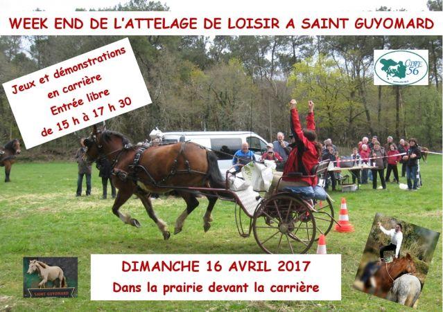 Week-end attelage de loisirs des 15 et 16 avril 2017