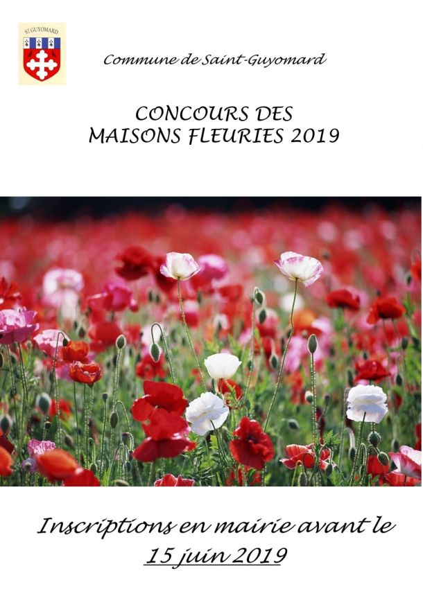 Concours maisons fleuries 2019
