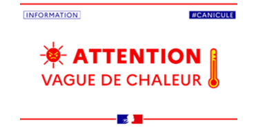 Attention : vague de chaleur
